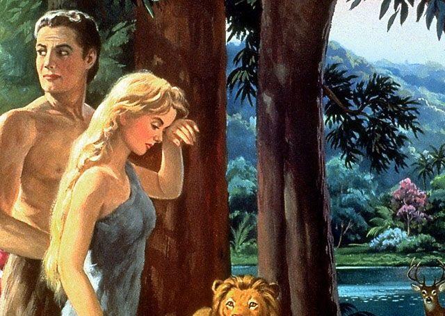 Historia de adan y eva ieca for Adan y eva en el jardin del eden