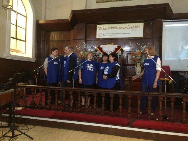 El equipo de evangelismo