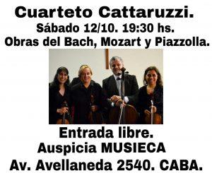 Cuarteto Cattaruzzi @ IECA